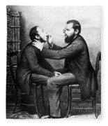 Johann Nepomuk Czermak (1828-1873) Fleece Blanket