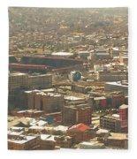 Johannesburg Stadium Fleece Blanket