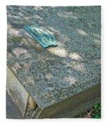 John Adlum Revolutionary War Soldier Fleece Blanket
