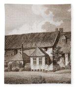 John Bunyans Meeting House, Early 19th Fleece Blanket