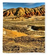 John Day Oregon Landscape Fleece Blanket