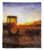 John Deere Photo Art 06 Fleece Blanket