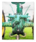 John Deere Tractor Fleece Blanket