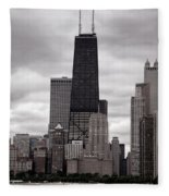 John Handcock Building Fleece Blanket