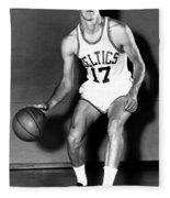 John Havlicek Of The Boston Celtics 1960s Fleece Blanket