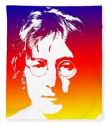 John Lennon The Legend Fleece Blanket