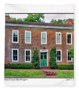 John Snow House Worthington Fleece Blanket