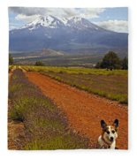 Johnny And The Mountain Fleece Blanket