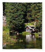 Johnny Sack Cabin Fleece Blanket