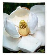 John's Magnolia Fleece Blanket