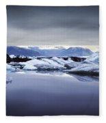 Jokulsarlon Fleece Blanket