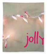 Jolly Fleece Blanket