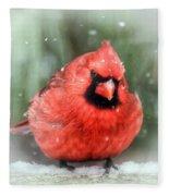Jolly Old ....... Cardinal  Fleece Blanket