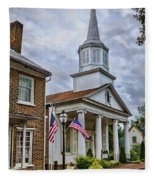 Jonesboro Methodist Church Fleece Blanket