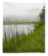 Jordan Pond In Acadia National Park Fleece Blanket