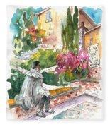 Jose Ledesma Criado In Salamanca Fleece Blanket