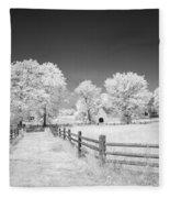 Joseph Poffenberger Farm 8d00231 Fleece Blanket