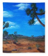 Joshua Tree Desert Fleece Blanket