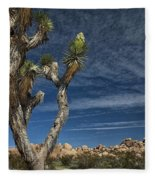 Joshua Tree In Joshua Tree National Park No. 279 Fleece Blanket