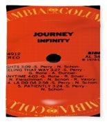 Journey - Infinity Side 1 Fleece Blanket