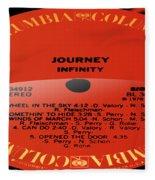 Journey - Infinity Side 2 Fleece Blanket
