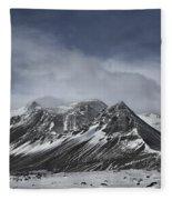 Journey Into The Realms Above Fleece Blanket