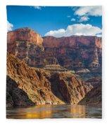 Journey Through The Grand Canyon Fleece Blanket