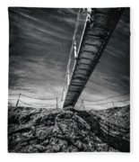 Journey To The Centre Of The Earth Fleece Blanket