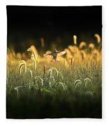 Joy Of Summer - Version 2 Fleece Blanket