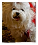 Joy To The World Fleece Blanket