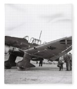Junkers Ju87b Legion Condor Fleece Blanket
