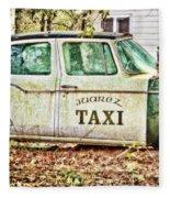 Juarez Taxi Fleece Blanket