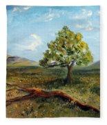 Jubilant Fields Fleece Blanket