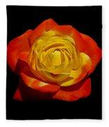 Judy Garland Rose Fleece Blanket