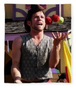 Juggler Fleece Blanket