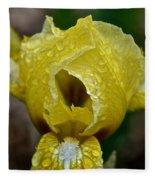 Juicy Lemon Petals Fleece Blanket