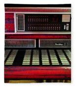 Jukebox - Wurlitzer X7 Fleece Blanket