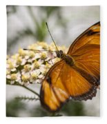 Julia Butterfly Fleece Blanket