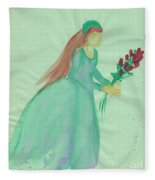 Juliet  By Jrr Fleece Blanket