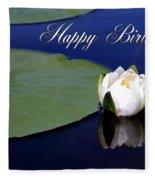 July Birthday Fleece Blanket