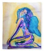 July  Fleece Blanket