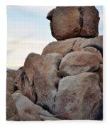 Jumbo Rock Joshua Tree Fleece Blanket