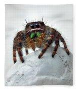 Jumper Spider 2 Fleece Blanket