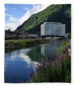 Juneau Federal Building Fleece Blanket