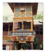 Jungle Cruise Adventureland Disneyland Fleece Blanket