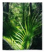 Jungle Fern Fleece Blanket