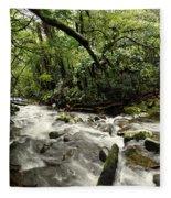 Jungle Flow Fleece Blanket