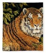 Jungle Monarch Fleece Blanket