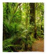Jungle Scene Fleece Blanket