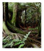 Jungle Trunks3 Fleece Blanket